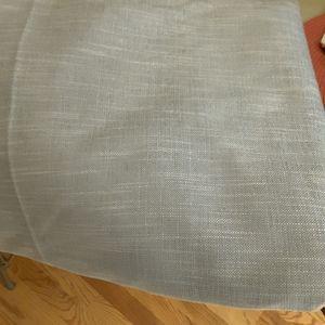 3 yards Sea foam green upholstery linen fabric